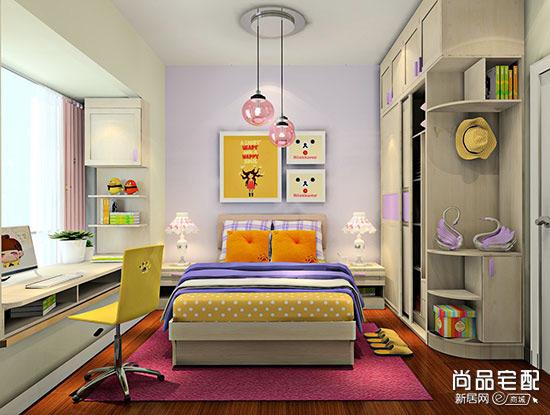 儿童卧室衣柜