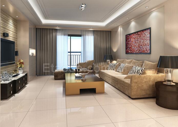 客厅地板砖应该是横着铺还是竖着铺呢?这个有没有什么
