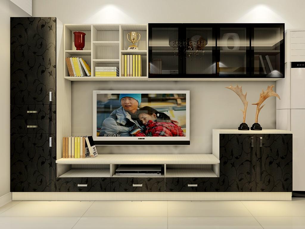 电视柜效果图大全_客厅电视柜效果图大全图片