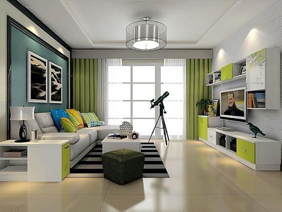 客厅装修效果图欣赏现代简约设计