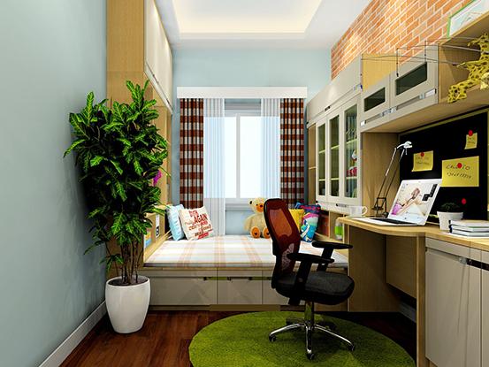 带床小书房装修效果图大全图片