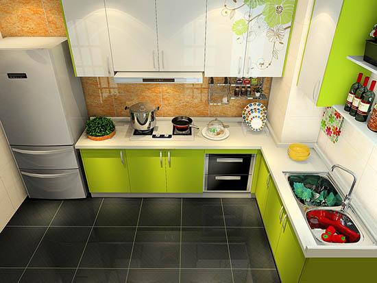 开放式厨房装修效果图大全2016图片