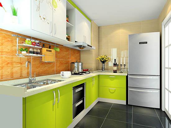 小户型厨房推拉门装修效果图图片