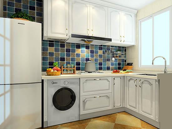 欧式小厨房装修效果图2016图片