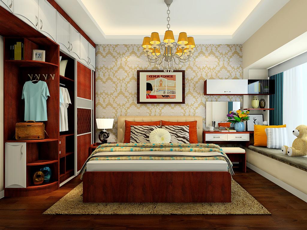 小卧室装修效果图大全2016图片图片