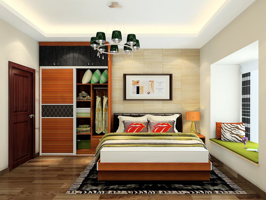 卧室飘窗装修效果图小户型