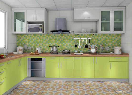 小户型简约风格装修效果图厨房