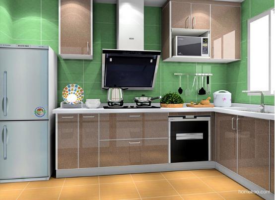 小户型厨房装修效果图大全图片