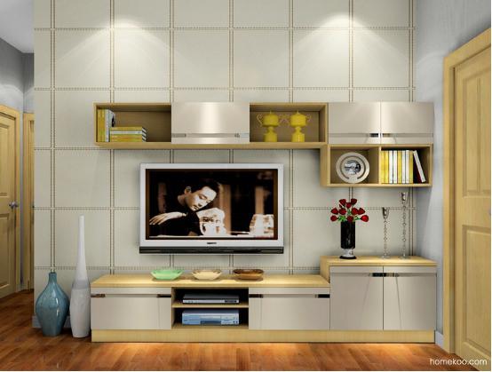 家居装修图片电视柜设计出众,就可以塑造出厚重而高端的空间。都市生活纷繁复杂,实用主义倡导者喜欢的是有品质的生活,强调生活的高度,设计到位,就可以利用空间塑造出来超强的储物能力,可以让整个空间变得完美出众。   家居装修图片电视柜设计风格展示:韩式田园    这个客厅的绿色主基调的设计给人的感觉是非常清新的,搭配上白色的柜体的设计就可以巧妙地融入田园的风格,整体的感觉就会非常清新而自然,充分安逸和舒适的感觉,清新的生活氛围对于忙碌的都市人来说,是非常不错的选择。   家居装修图片电视柜设计风格展示:里昂