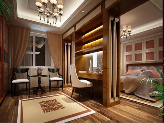 卧室欧式隔断效果图大全 欧式卧室效果图图片