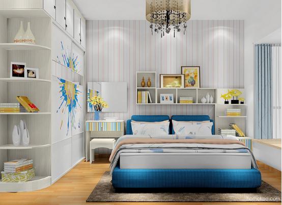 新居图库 卧室装修效果图 整体衣柜 衣柜带梳妆台效果图 衣柜梳妆台一图片