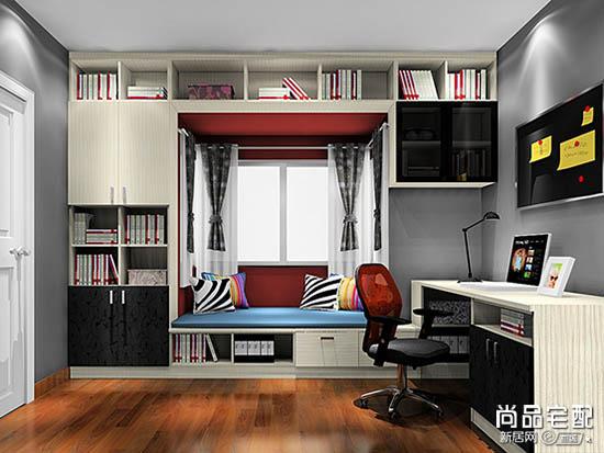 4平米书房装修