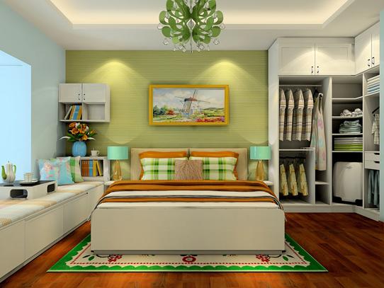 卧室墙纸背景墙