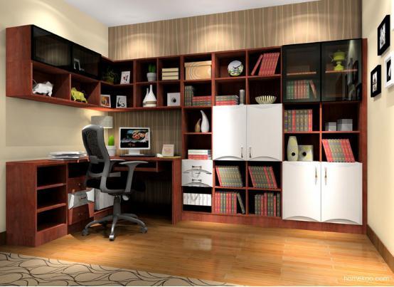 2016书柜设计图片大全 家用书柜图片大全图片