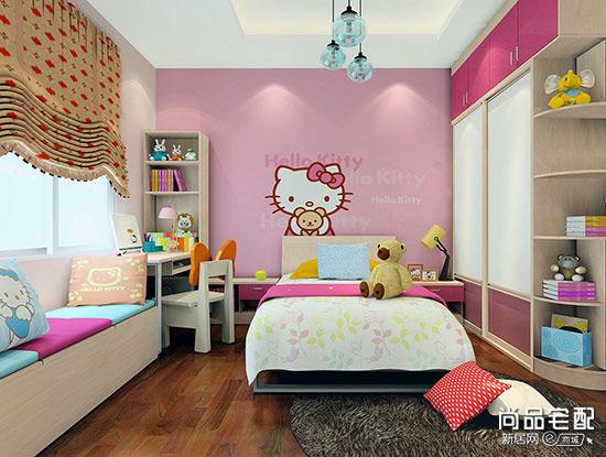 儿童房手绘墙素材
