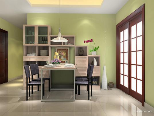 餐厅是就餐的必要场所,一个拥有了美观的装饰以及餐桌是营造好的就餐环境的条件,欧式餐桌图片让我们能够好好打地领略下具备了欧式风情的餐桌有什么特色,特别是在选材以及尺度方面是通过什么样的特色设计来制造出人人喜爱的餐桌的。 欧式餐桌图片:北欧阳光  欧式情调的餐厅装扮追求的是深邃与简单的组合,从图片上可以看到这种充满阳光活力的装扮依靠了两面颜色差异大的墙面以及它们在灯光的普照下相互辉映来实现的。