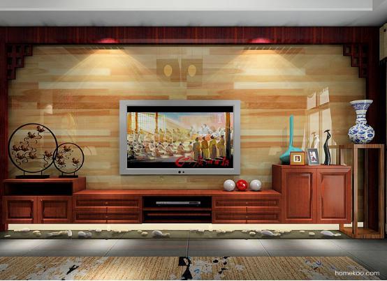 中式电视背景墙图片 中式客厅背景墙图片图片