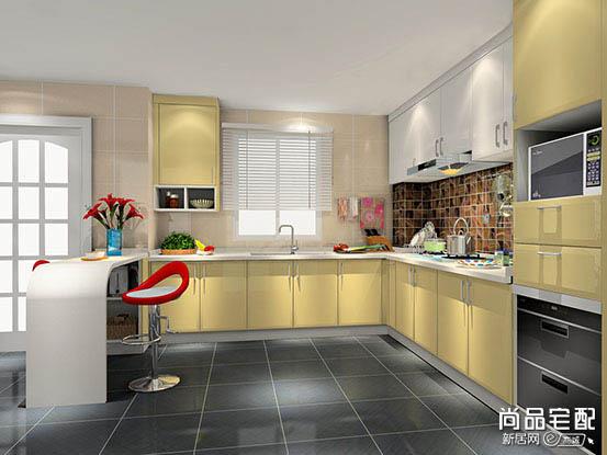 樱花整体厨房图片
