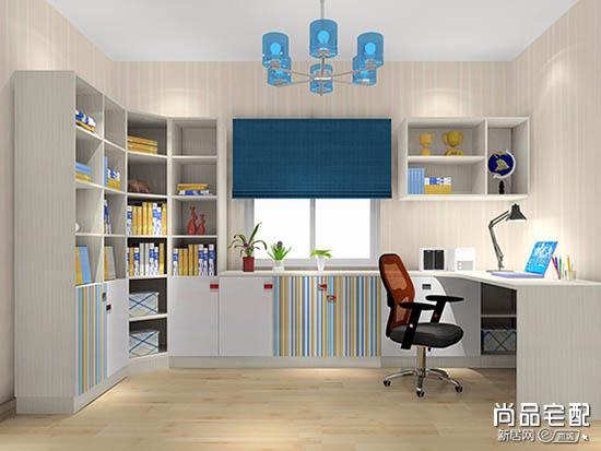 现代简约书房装修