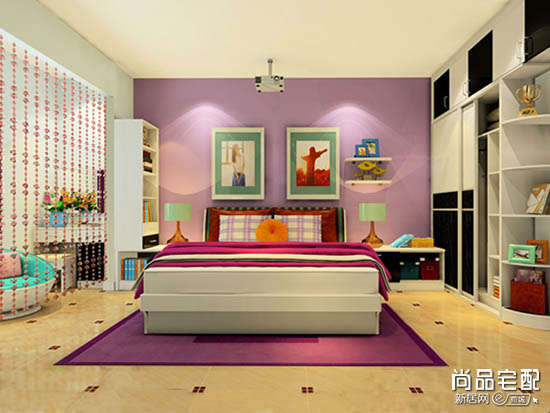 女生卧室设计图片