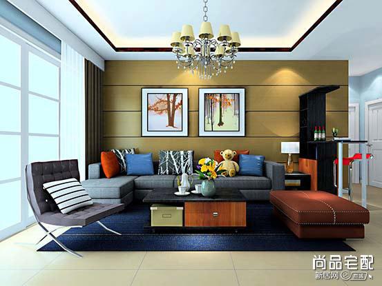 现代布艺沙发价格