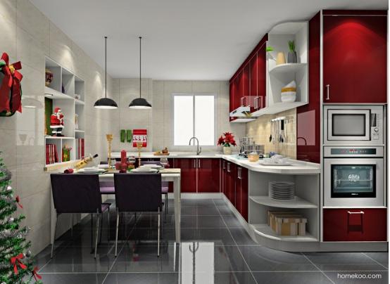 厨房装修效果图大全图片