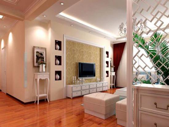 欧式白色电视柜图片