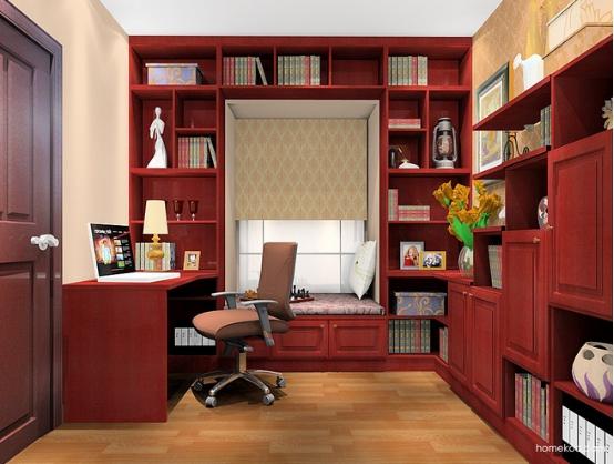 小户型书房装修图片