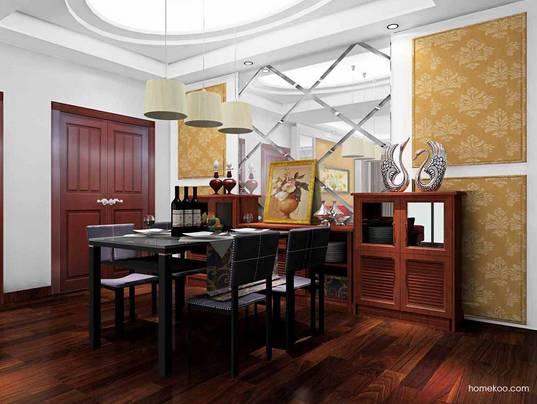 中式餐厅吊灯图片