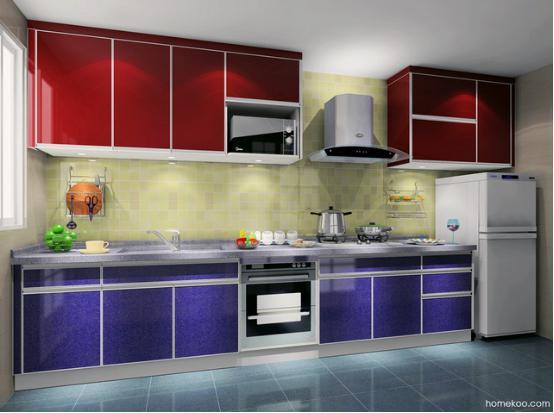 家庭厨房装修设计效果图