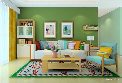 欧式沙发效果图