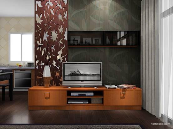 小客厅电视背景墙图片