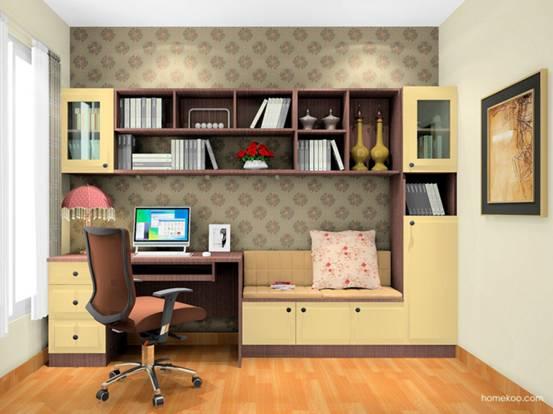 小书房装修图片