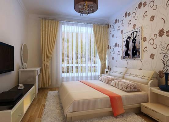 卧室壁纸装修效果图2016
