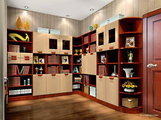 组合书柜图片