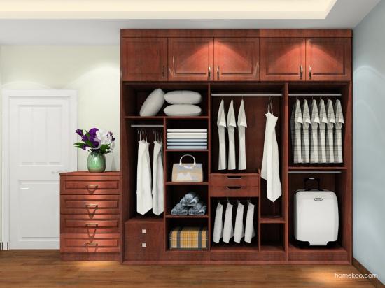 四门衣柜尺寸