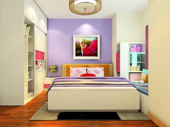 青少年女生卧室设计
