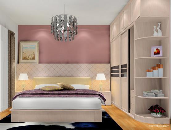 北欧阳光的设计主题现在是非常流行的,欧式整体衣柜图片设计风格展示出来的效果是极好的,设计师选择的是非常柔和的木纹,带有非常细腻的纹理,让主人的卧室氛围也变得温和有魅力。风格出众,靓点频出,气质也是极好的。 北欧阳光:欧式整体衣柜图片一  这个卧室在柜体的设计上是非常丰富的,首先是衣柜的设计,其次是电视柜的设计,再就是飘窗的设计和梳妆台的组合设计,很好看,色彩方面采用的是暖色系列来搭配整个卧室空间,充满浪漫的气息,错落有致的设计更有层次感。