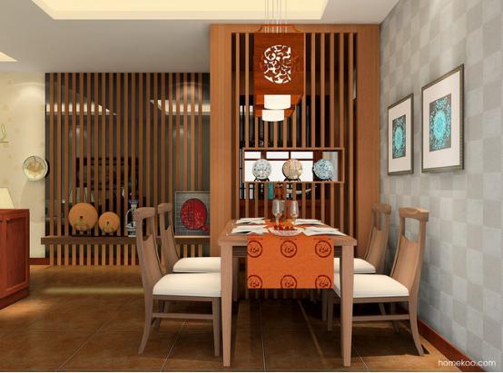 中式餐厅餐桌图片