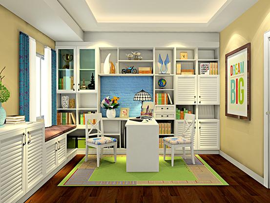 田园书房设计