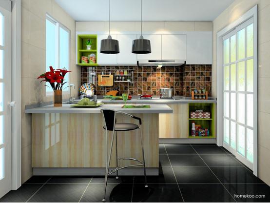 美式厨房图片大全 美式厨房装修图片