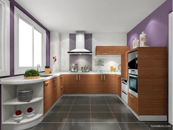 装修厨房图片
