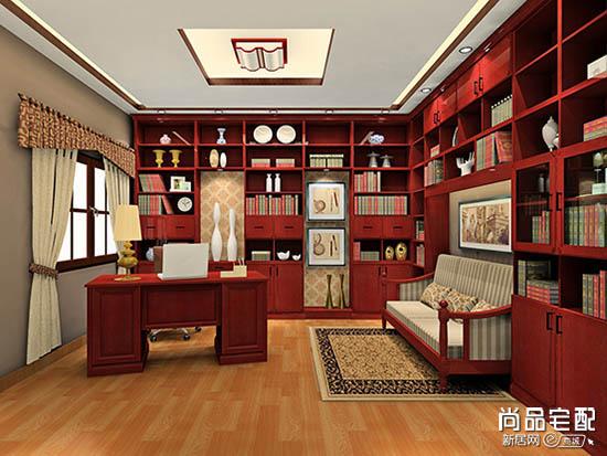 中式书房家具图片