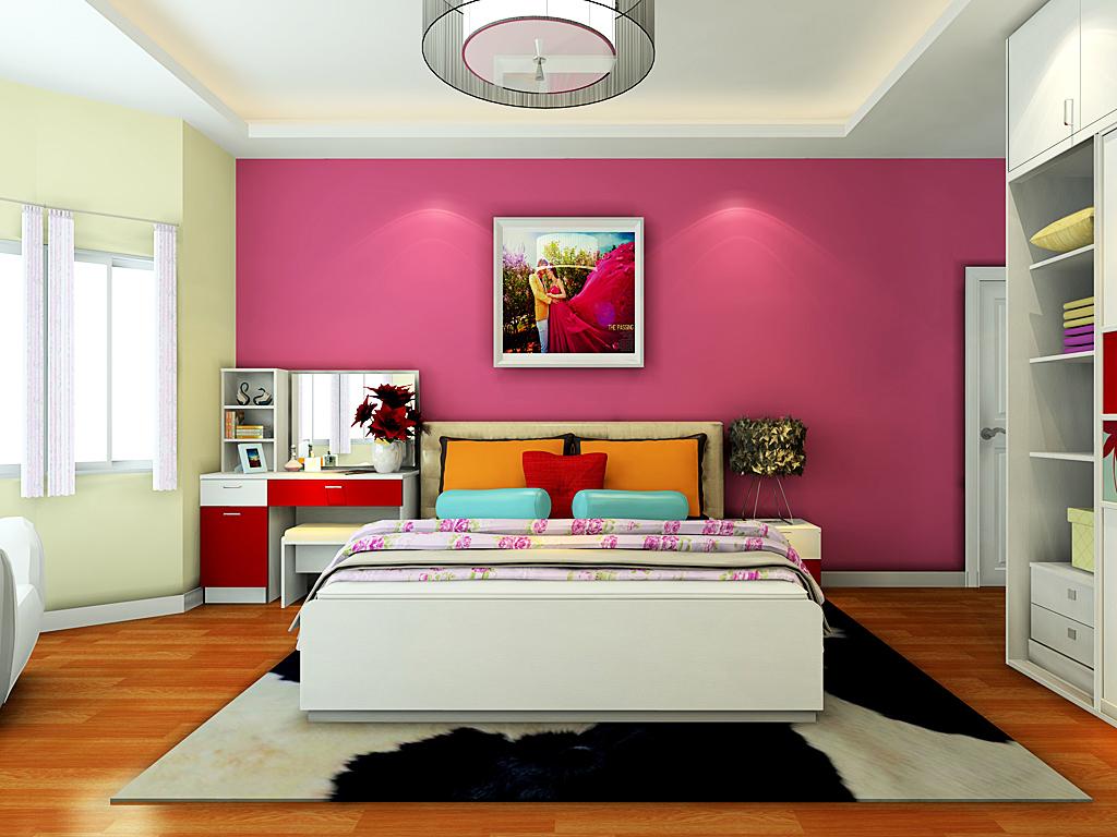 女生卧室小清新设计