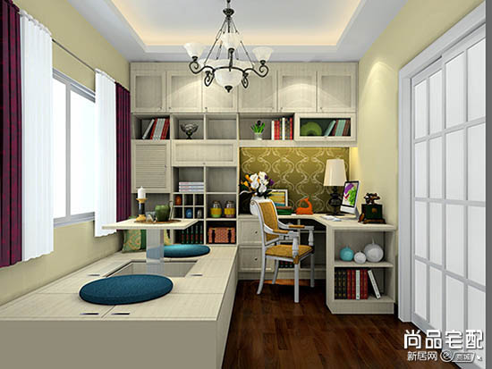 开放式书房设计