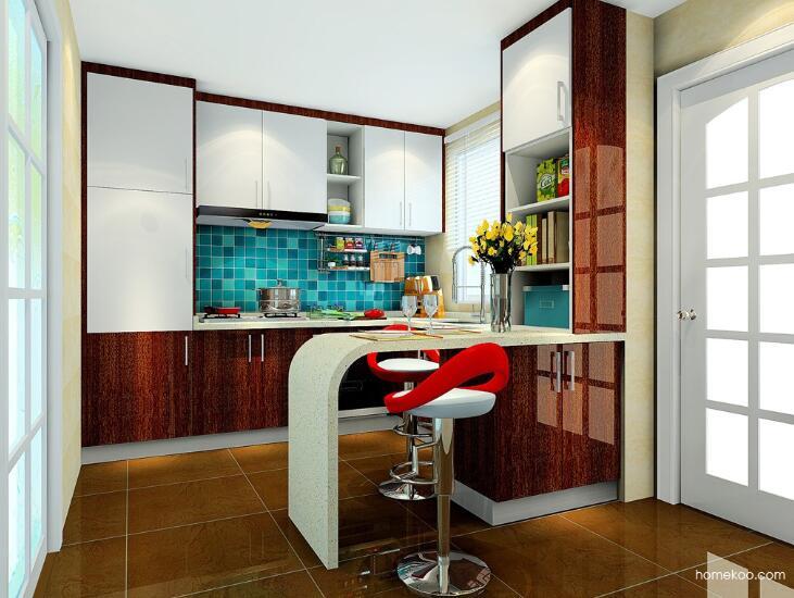 开放式厨房吧台设计