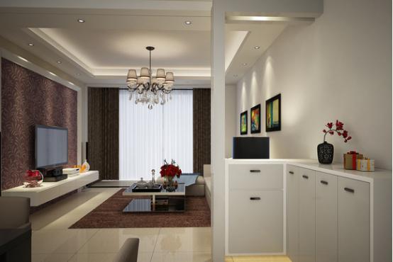 客厅玄关设计图