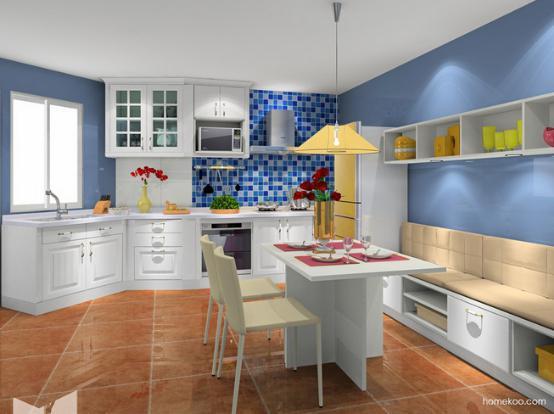 厨房饭厅装修图片