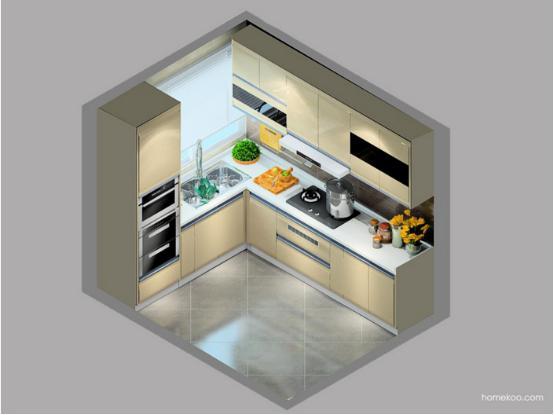 开放式厨房怎么隔断