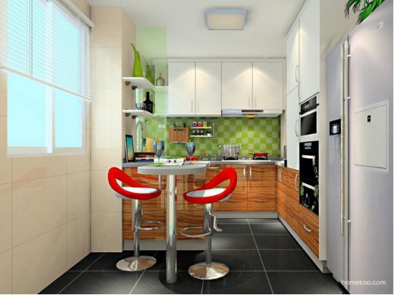 厨房吊顶设计效果图